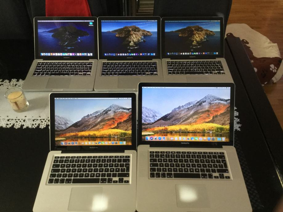 4 MacBook Pro laptopa TOP PONUDA U KOMPLETU!!!