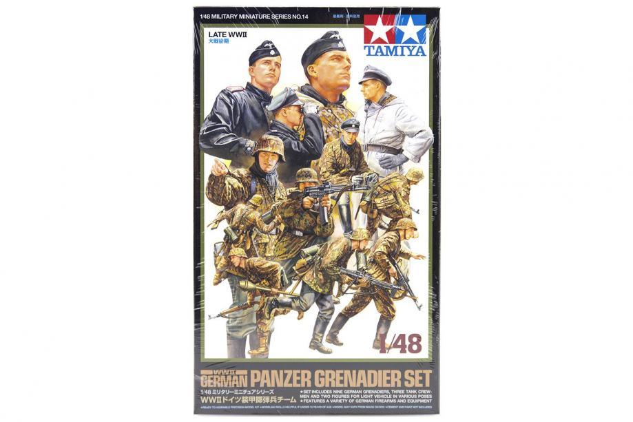 German Panzer Grenadier Set (Late WWII)