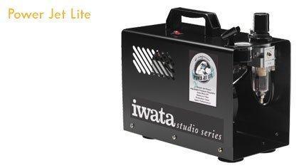 Iwata Kompresor + Air Brush (AB)