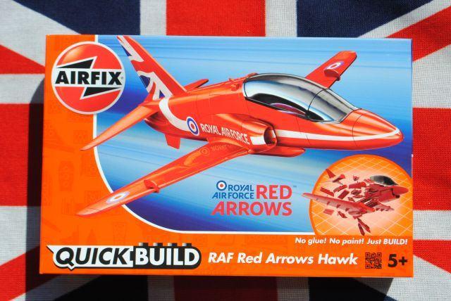 Quick build Red Arrows Hawk