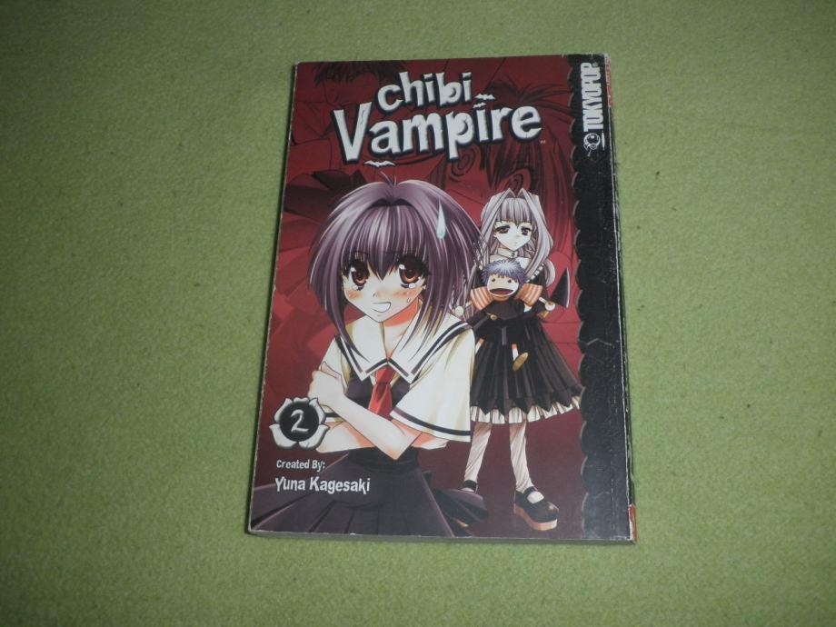 CHIBI VAMPIRE VOLUME 2 - Yuna Kagesaki