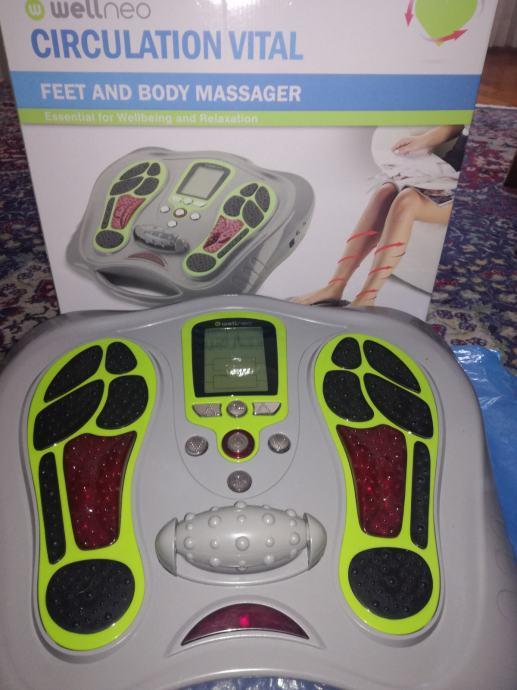 Masažer - električna stimulacija mišića nogu i tijela