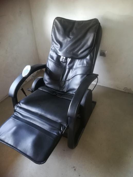 Kožna masaža fotelja