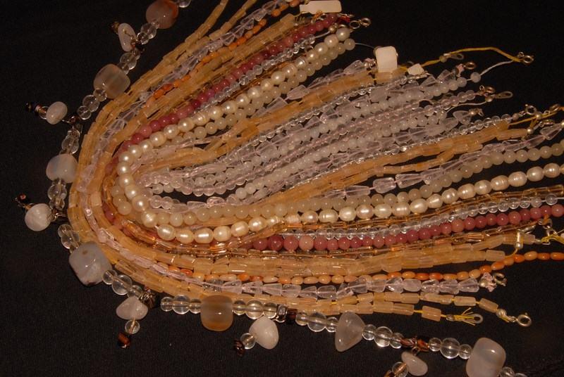 Materijal za izradu nakita , polu dragi kamen , Murano ogrlica