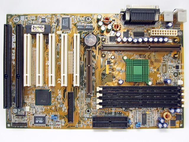 Asus P2B-F Slot 1 matična ploča Slot1 Pentium 2 Pentium 3 Pentium3 ISA