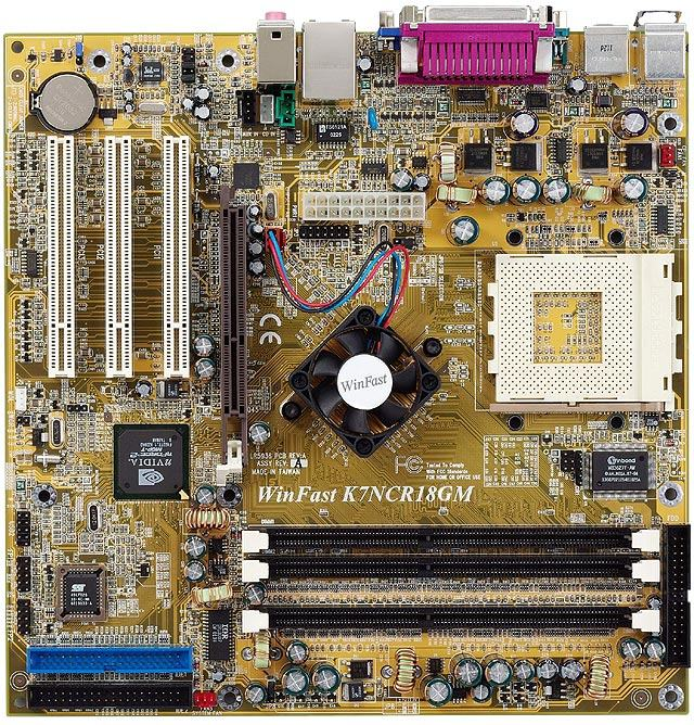 WinFast K7NCR18GM Socket A Socket 462 SocketA matična ploča mbo