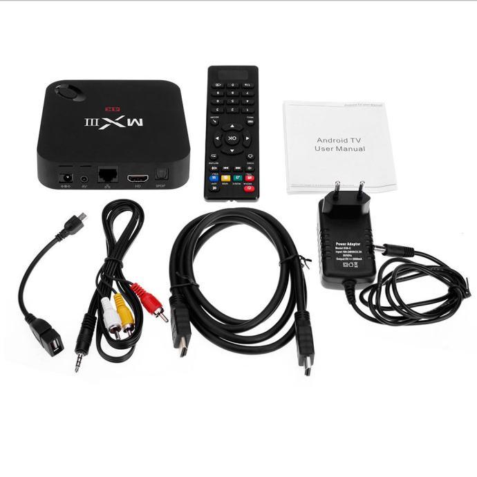 Infinity XBMC 4 Core Android TV/IPTV (KODI) MX 3 4K - AKCIJA !!!