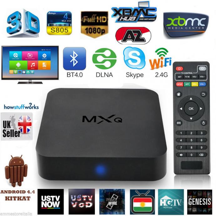 MXQ S805 Smart TV Box Android
