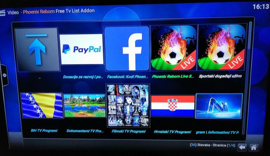 TvBox Alfawise,Android 9,WiFi,4Gb RAM DDR4,TVprog,Film,Sve instalirano