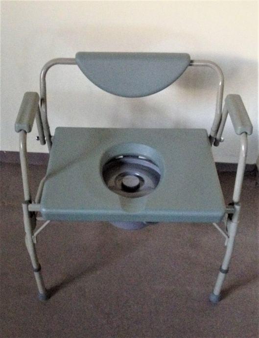 Toaletna stolica princeza XXL - ''NOVO'' -  Medipom pomagala
