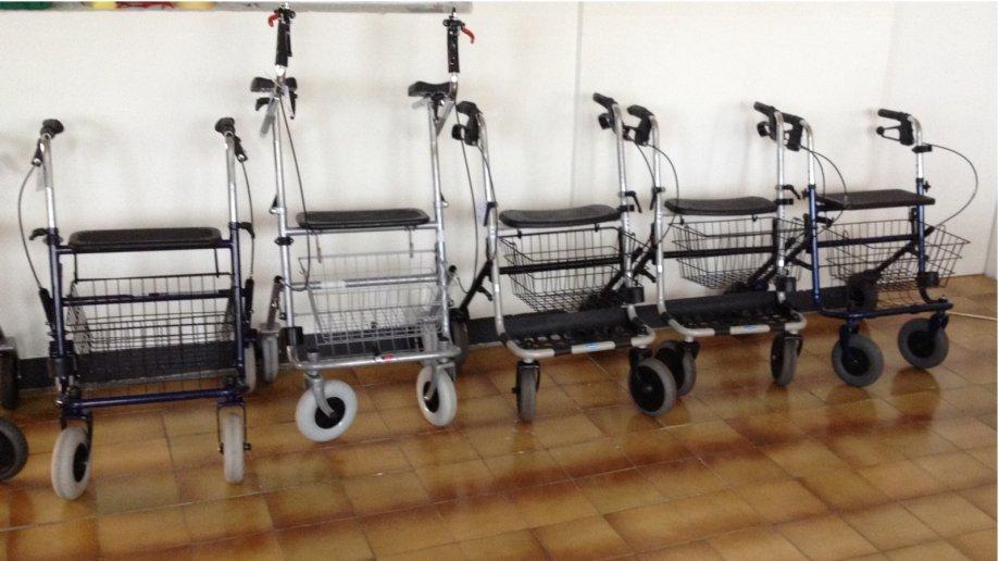 Rolator hodalica rabljena i nova