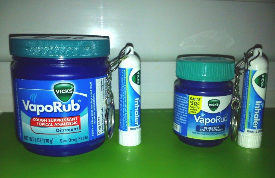 VICKS gel/mast PROTIV tegoba gripe, prehlade + ŠTIFT za NOS **GRATIS**