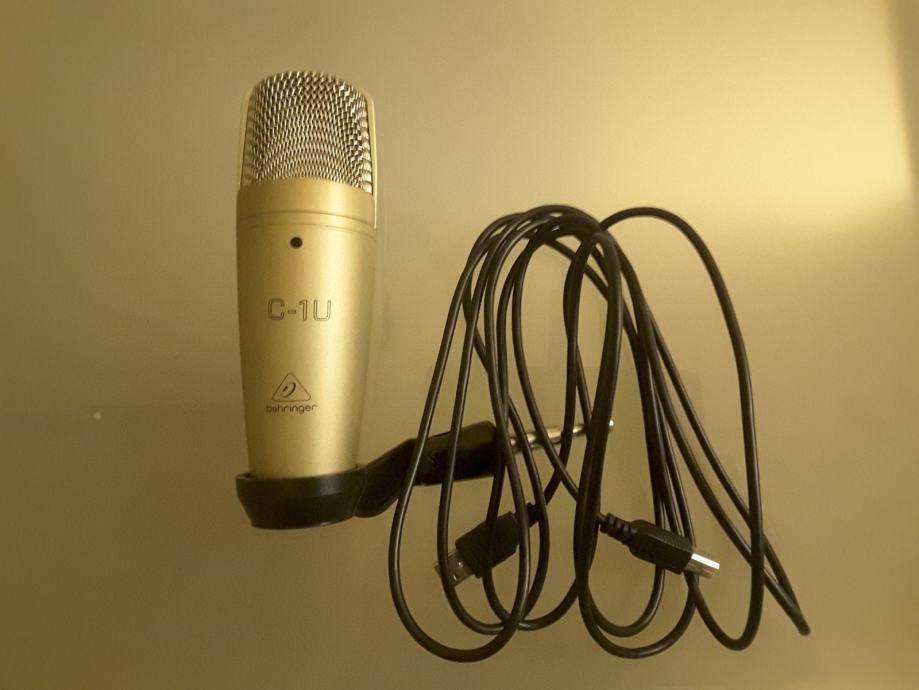 BEHRINGER C-1U USB kondenzatorski studio mikrofon