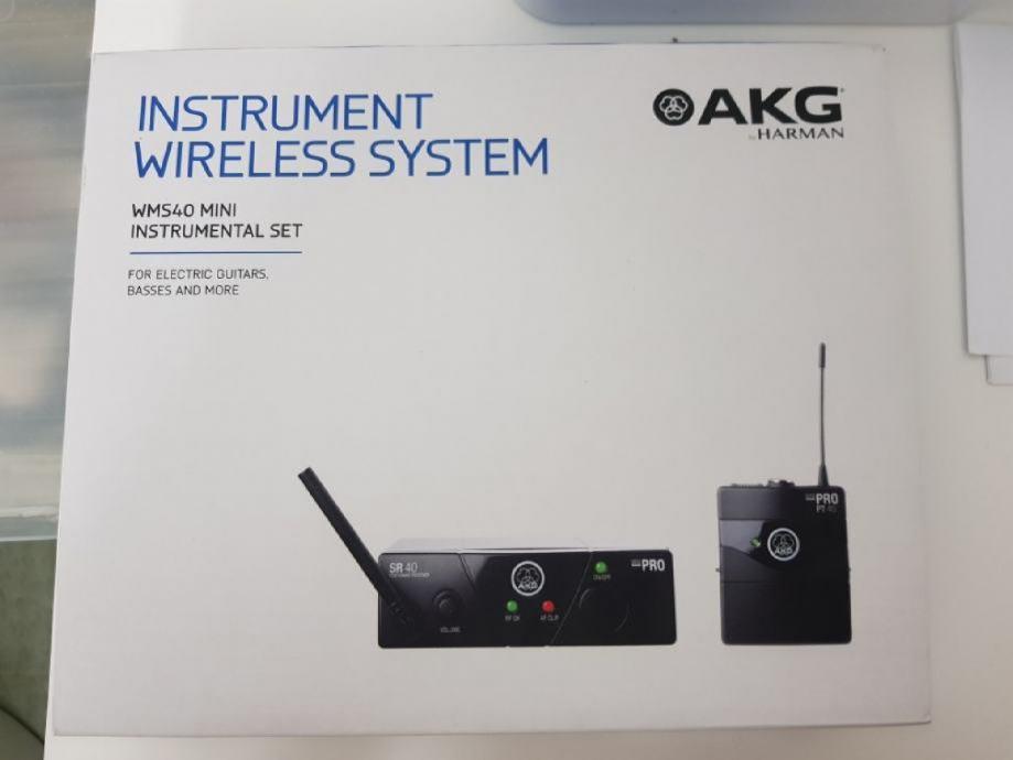 Bežičan sistem AKG WMS 40mini pro,nova generacija!2 godine garancija!