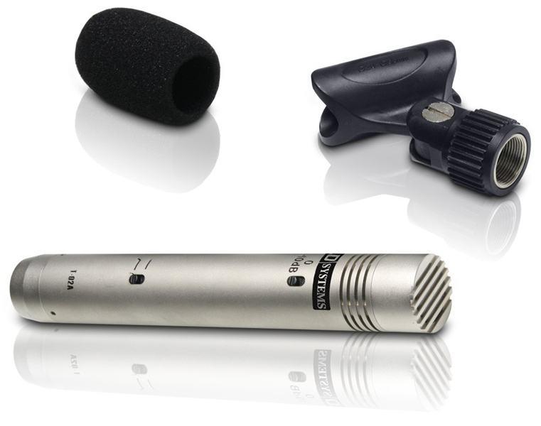 LD SYSTEMS D1102 kondenzatorski instrumentalni mikrofon