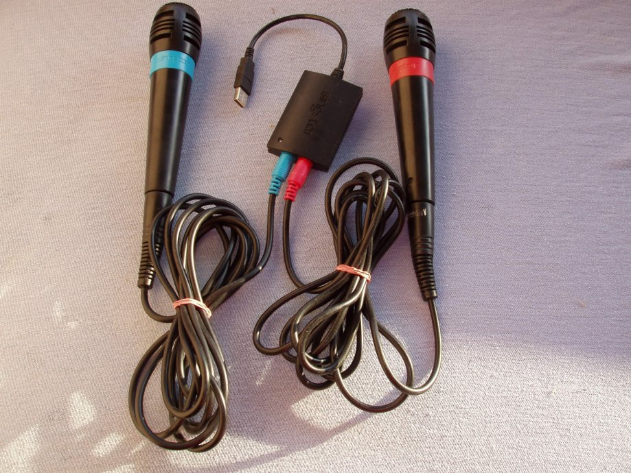 MIKROFONI ZA KOMPJUTER SINGSTAR USB CONVERTER