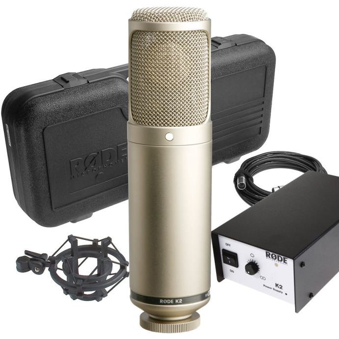 RODE K2 mikrofon +telefunenova lampa i stalak za mikrofon