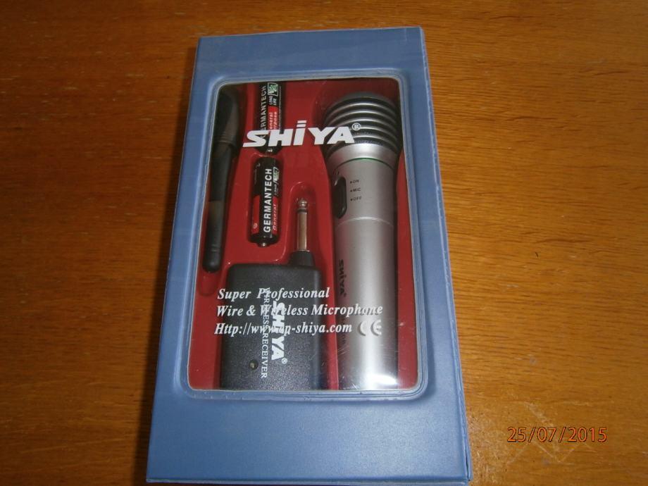 Mogu li spojiti mikrofon na moj prijamnik