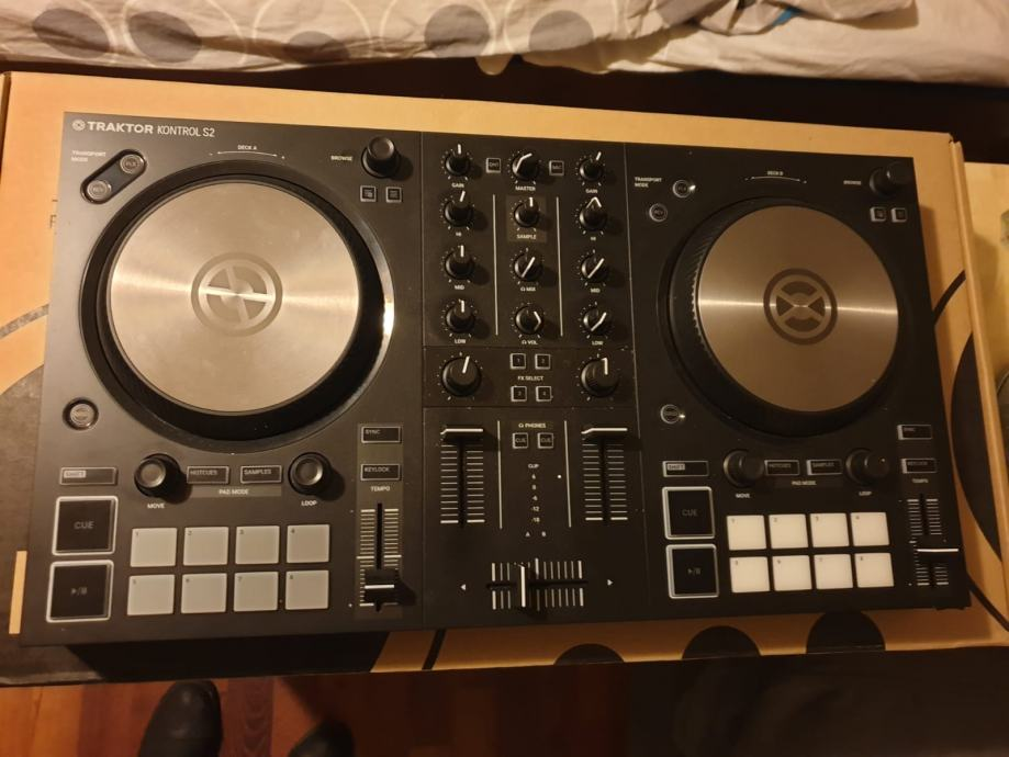 Virtual dj kontrol s2 native instruments