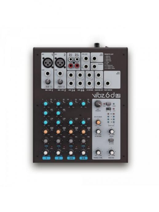 LD systems VIBZ6D mikseta s efektima