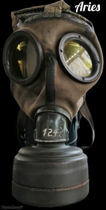 Njemačka (gas) plinska maska WW2