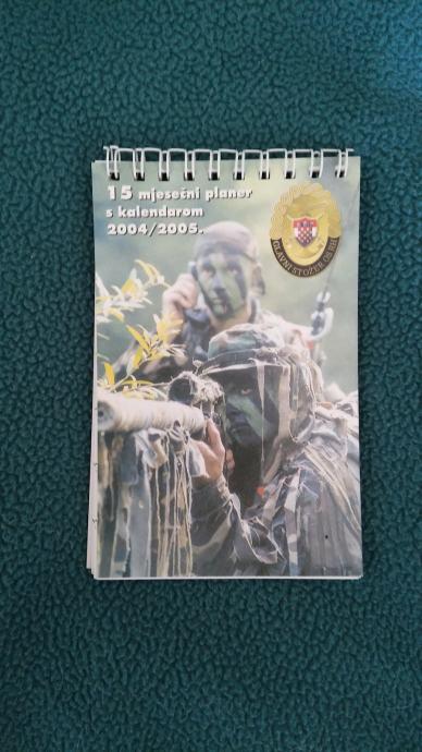 Planer kalendar 2004 2005 HV OSRH