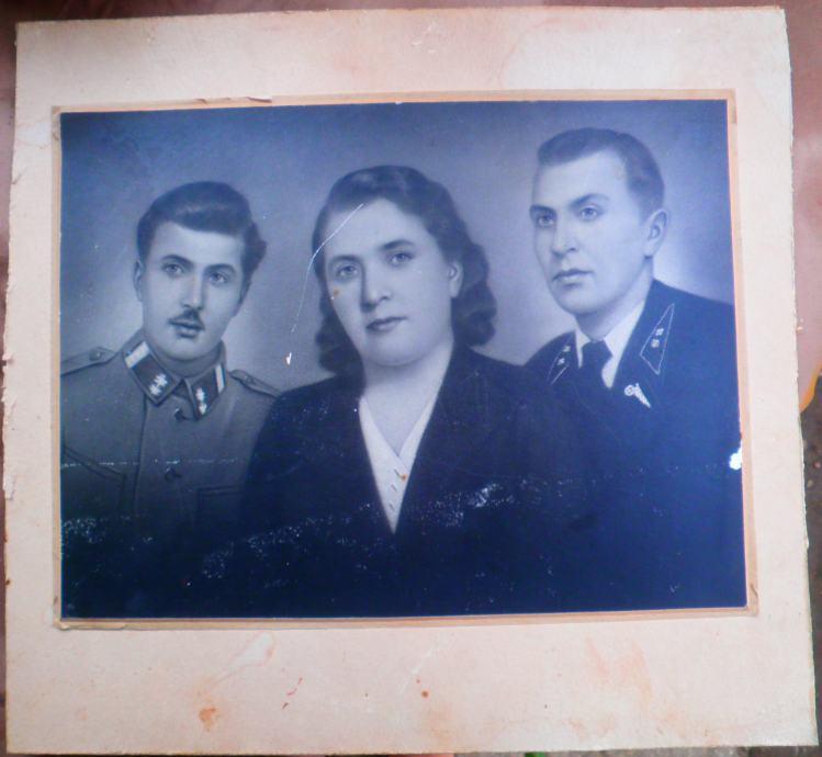 Ručno retuširana fotografija iz doba NDH