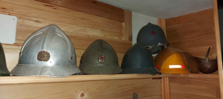 vojne i vatrogasne kacige