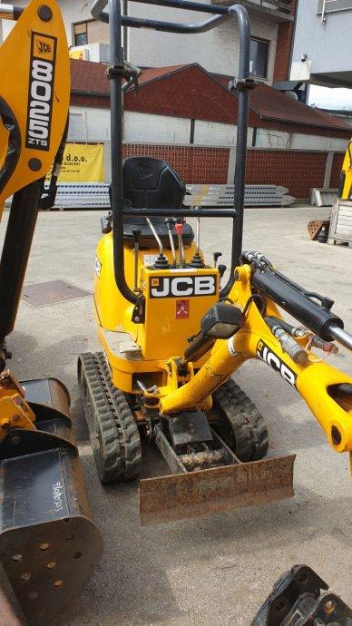 JCB 8008CTS MICRO BAGER, 2014 godina, 392 radnih sati