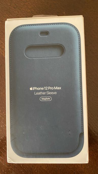 iPhone 12 Pro Max Leather Sleeve