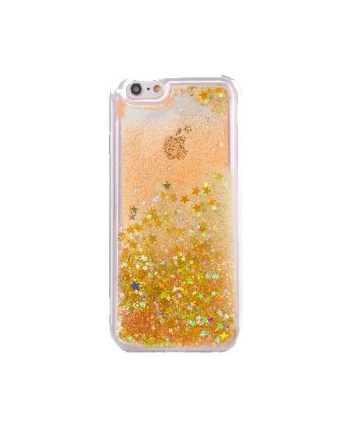 Iphone 6 PLUS zlatna Premium liquid maska