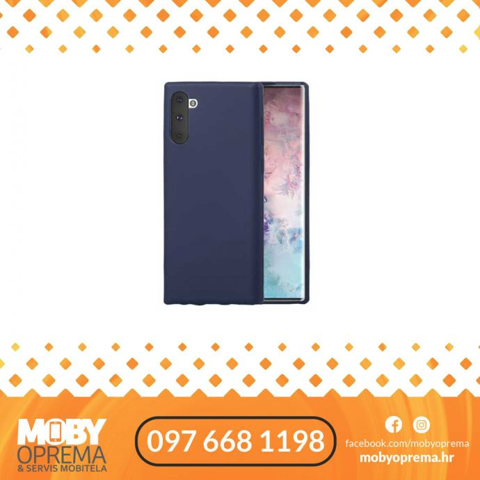 Samsung A71 Goospery Mercury Jelly plava maska