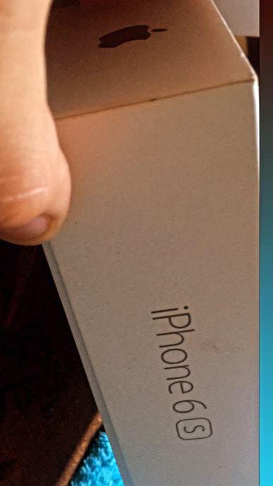 iPhone 6s kutija