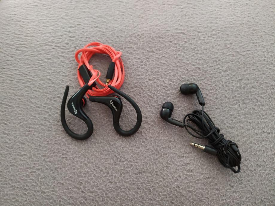 Slušalice s mikrofonom 1+1 na poklon