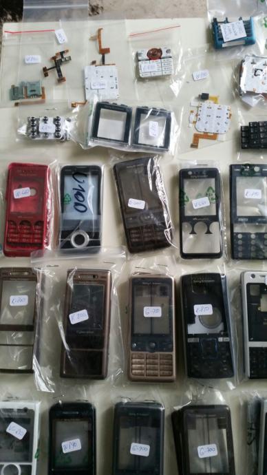 Maska, kučište, tipkovnica... novo, zapakirano, orginal, Sony Ericsson