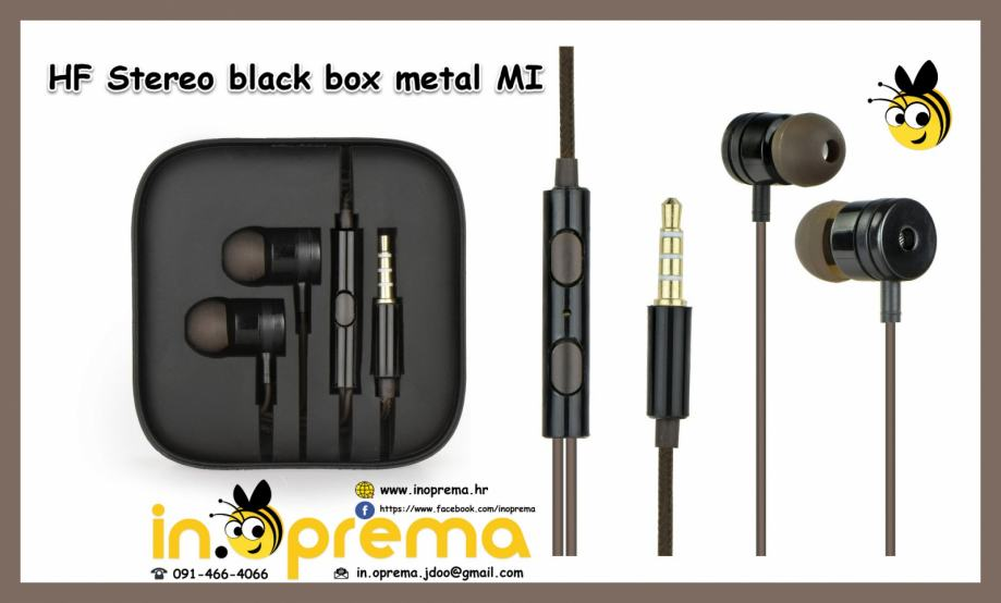 Univerzalne slušalice za mobitele, tablete, PC, Mp3, Mp4 uređaje