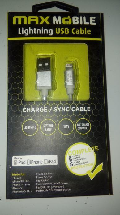 Kabel za iPod,iPhone,iPad