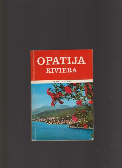 OPATIJA RIVIERA 1975 NA TALIJANSKOM ,ENGLESKOM
