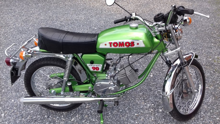 Tomos Electronic 90 ; E90 *Registriran*, 1978 god.