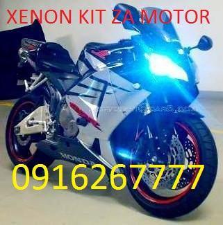 XENON SET KIT ZA MOTOR, SKUTER H1 H3 H4 H7 H7R H7C H8 H9 H10 H11