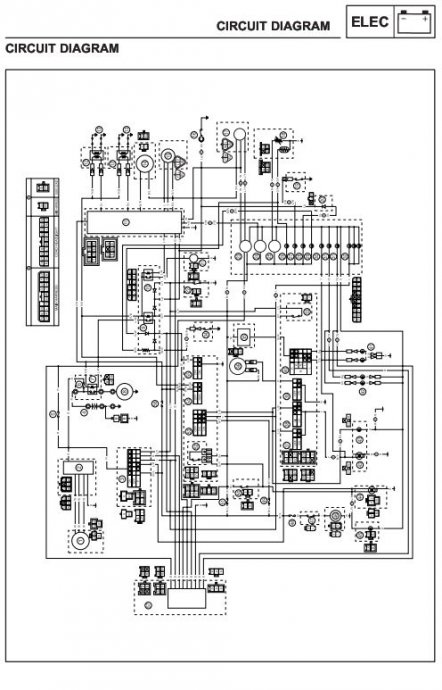 service/repair manual, priručnici za motocikle! 45 kn!!, Wiring diagram