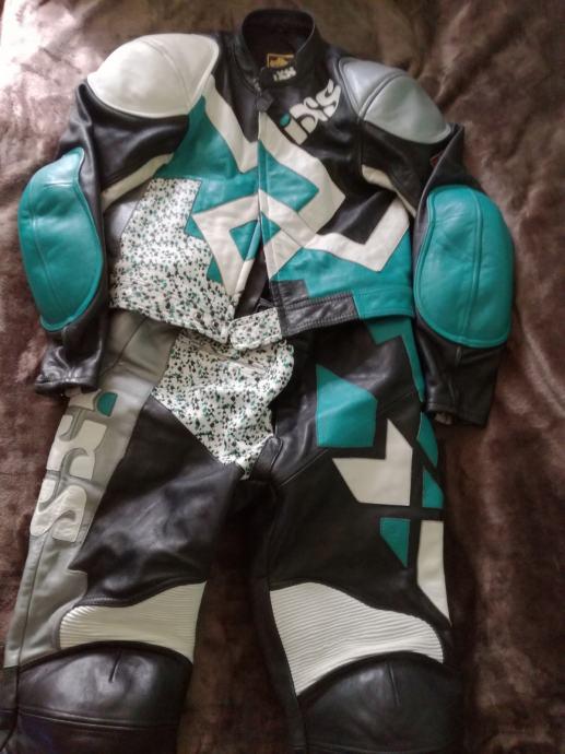 Žensko dvodijelno IXS motorističko odijelo
