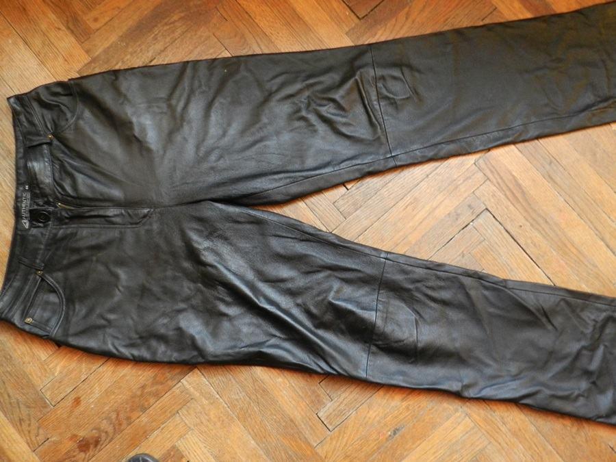 Kožne hlače tanje HITNO