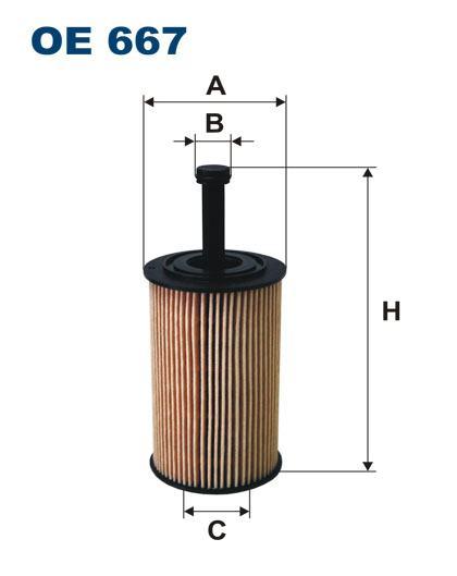 Filter ulja peugeot 206