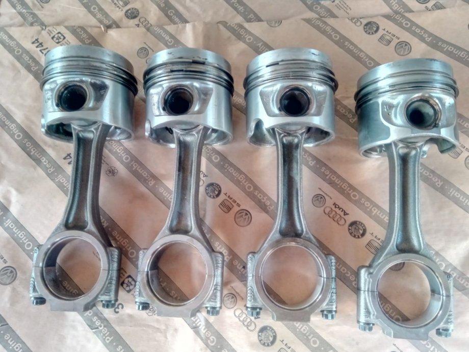 klipovi i klipnjaće   motora   2.0 tdi  za VW, AUDI, ŠKODU, Seat