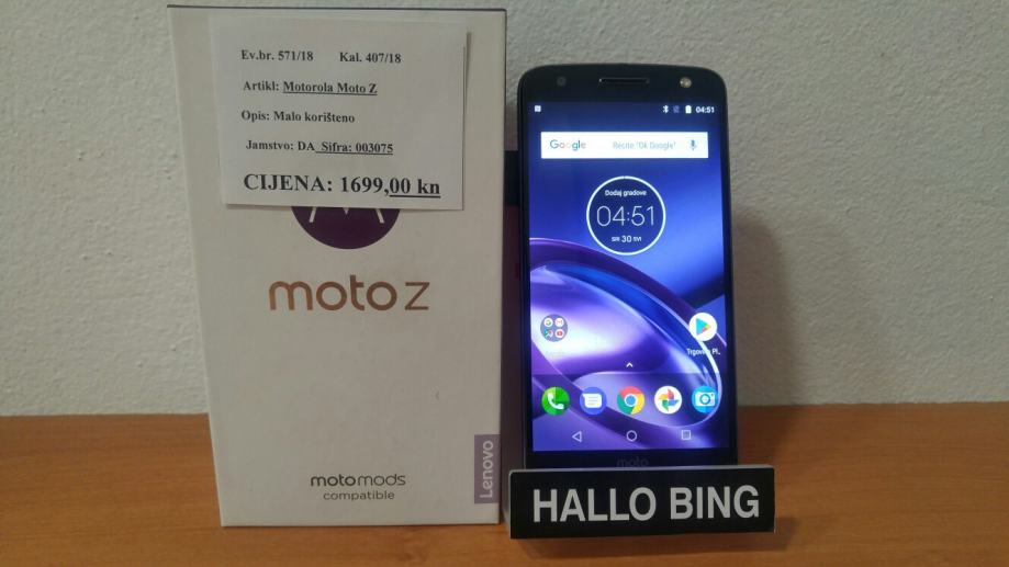 Motorola Moto Z, 4/32