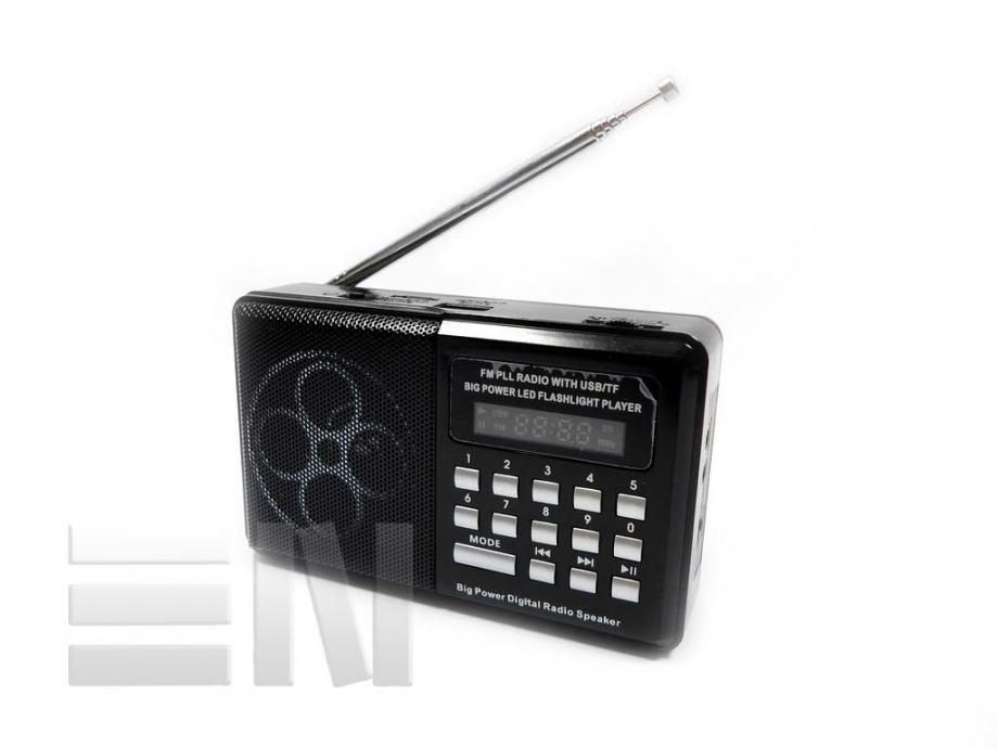 Multifunkcijski prijenosni digitalni FM radio, mp3, USB HN-182 LED