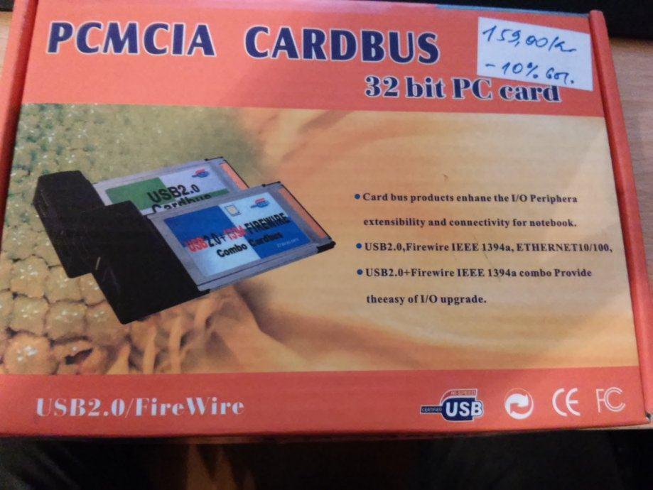 BONA COMP PCMCIA 8139 LAN Kartica za Notebook / laptop (novo)