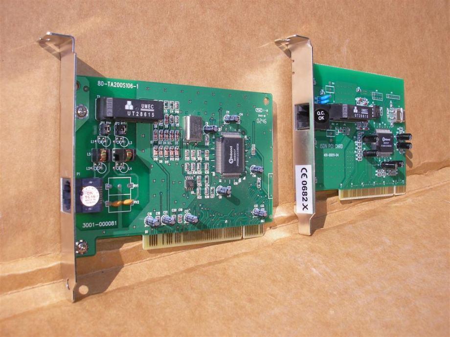 ISDN modem terminalni adapter PCI WInbond