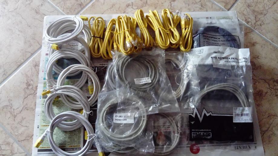 UTP kablovi 2 m - povoljno - moguća zamjena